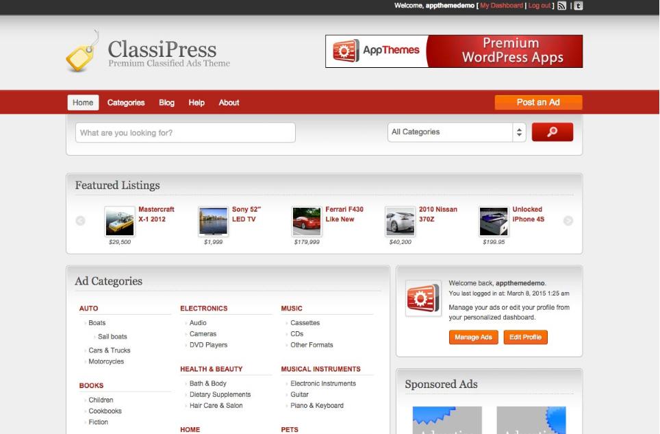 Como criar um site de classificados no WordPress