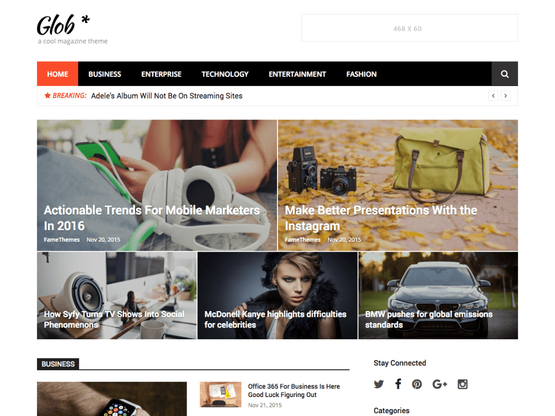glob template wordpress